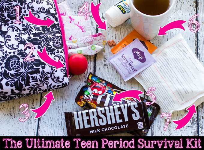 Ultimate Teen Period Survival Kit