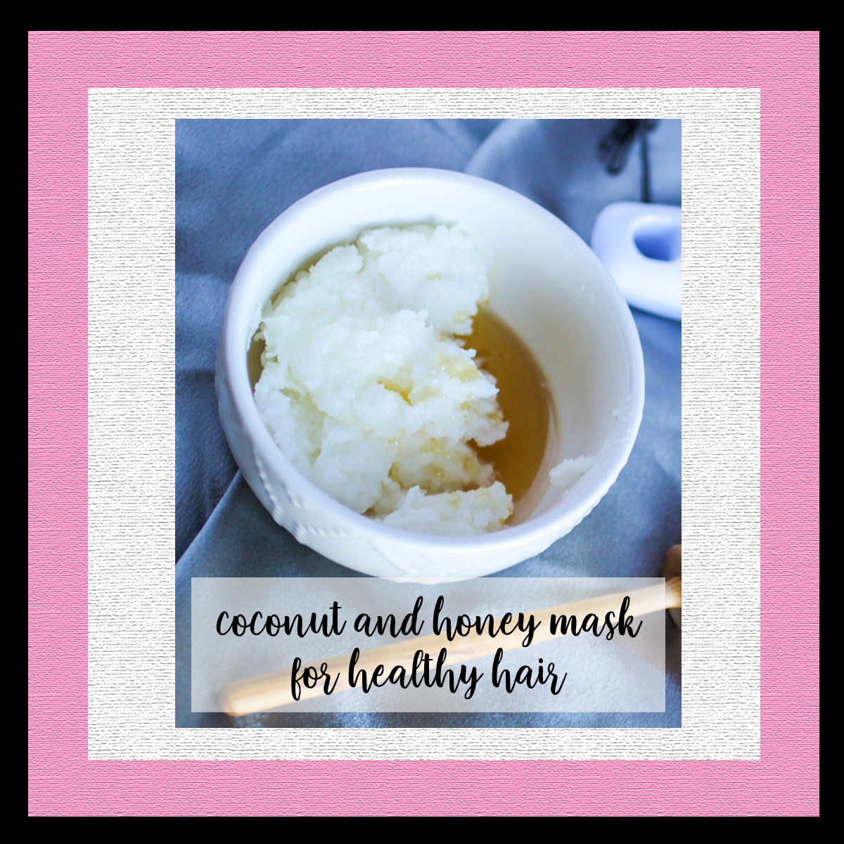 Coconut and Honey Mask for Healthy Hair
