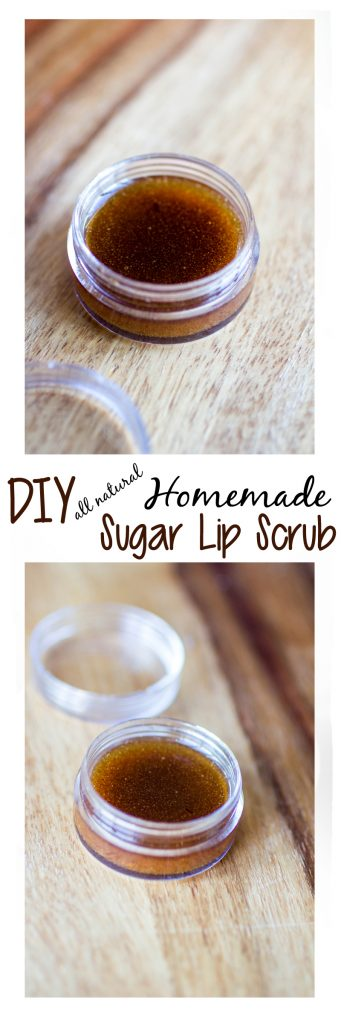 DIY Homemade Sugar Lip Scrub