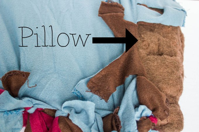 DIY No Sew Pet Bed