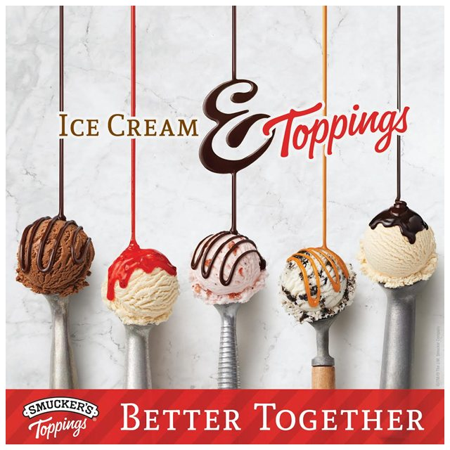 Smuckers Ice Cream Toppings