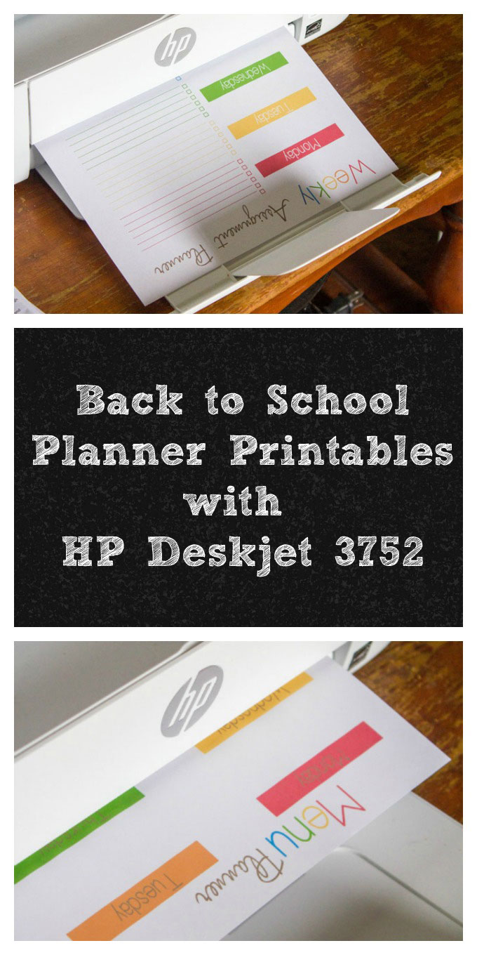 Back to School Planner Printables