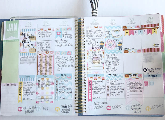Recollections Spiral Planner