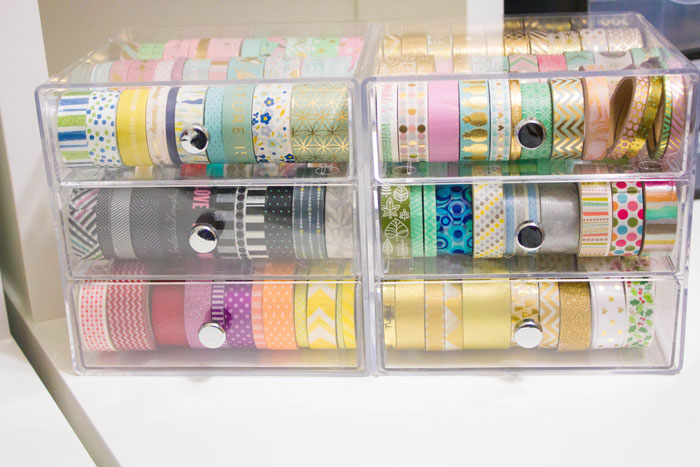 Washi Organization Storage Solution