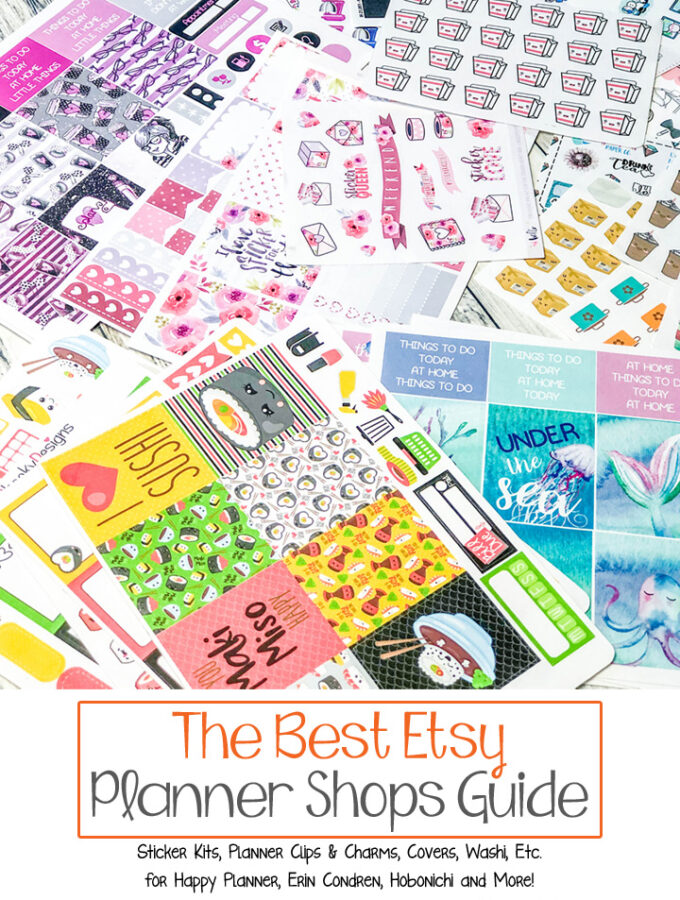 The Best Etsy Planner Shops Guide