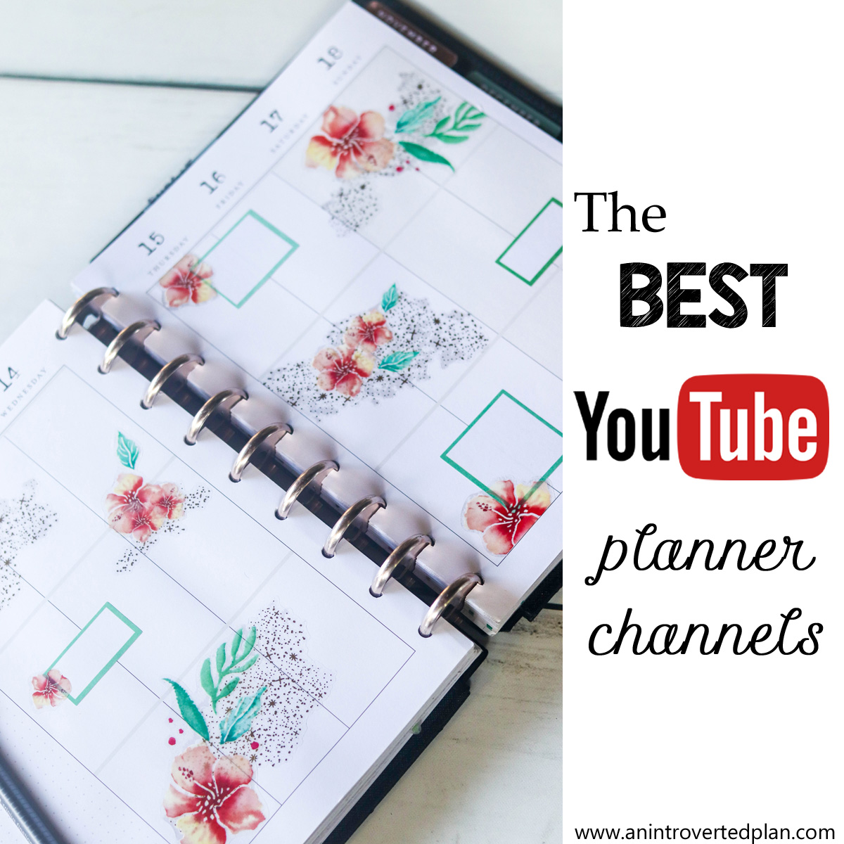 The Best Planner Youtube Channels